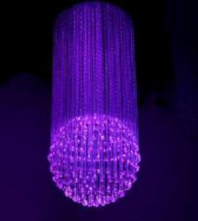 Fibre Optic chandelier - The Ball